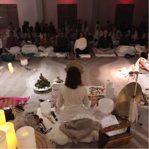 Sound Healing at the 1 Hotel in Miami Beach